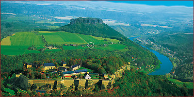 A especially beautifull and very particular landscape of SAXON SWITZERLAND